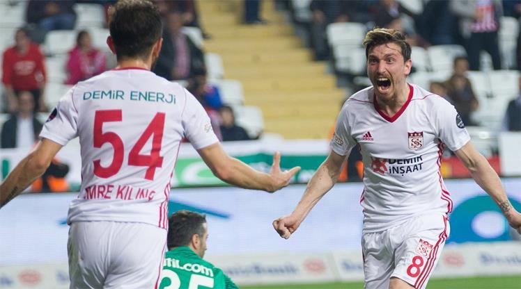 Sivasspor'un tarihi galibiyeti