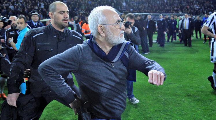PAOK'un üyeliği askıya alındı