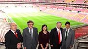 Galatasaray'a özel misafir