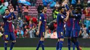Barcelona LaLiga'ya rekorla döndü (ÖZET)