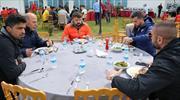 Trabzon'da barbekü partisi