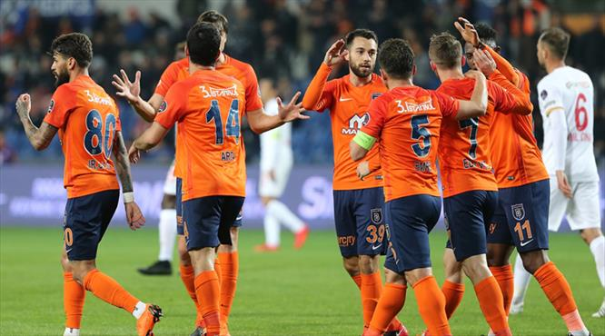 İşte Medipol Başakşehir - Kayserispor maçının özeti