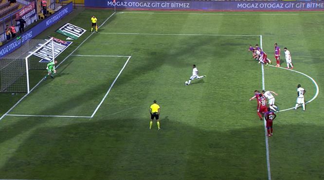 Eto'o'dan Konya'ya hayat veren gol!