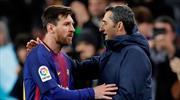 Valverde Messi'ye sahip çıktı