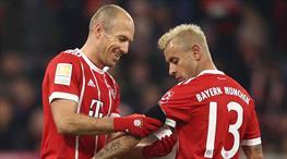 Robben ve Rafinha ile bir yıl daha