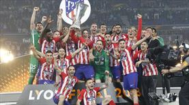 Avrupa Ligi'nde şampiyon Atletico Madrid