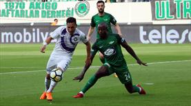 Teleset Mobilya Akhisarspor - Osmanlıspor: 2-1 (ÖZET)