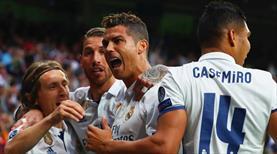 Real Madrid için rekor gecesi