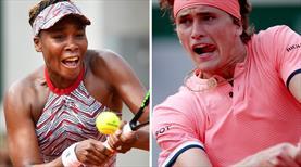 Roland Garros sürprizlerle başaldı