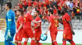 Belçika Dünya Kupası'na hazır (ÖZET)