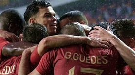 Portekiz Rusya'ya şovla gidiyor