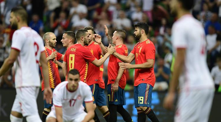 İspanya'dan tek gollü prova! (ÖZET)
