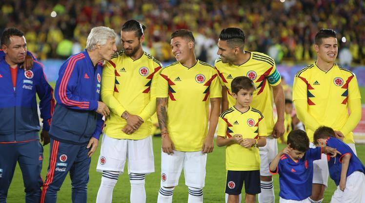 Kolombiya'nın hedefi bu kez yarı final!