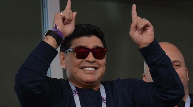 Maradona taraftarlardan özür diledi