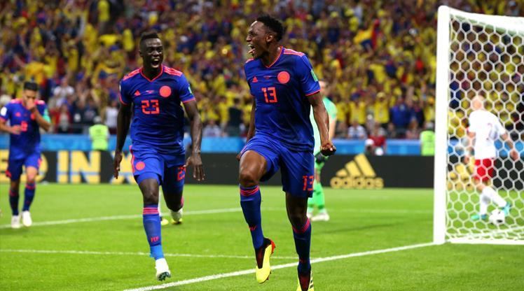 Mina perdeyi açtı, Kolombiya gol şov yaptı