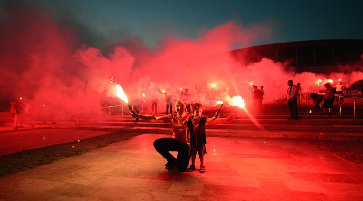 Antalyasporlular 7 Temmuz'u kutladı!
