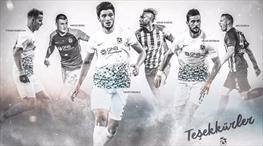 Trabzonspor'dan eski oyuncularına teşekkür!