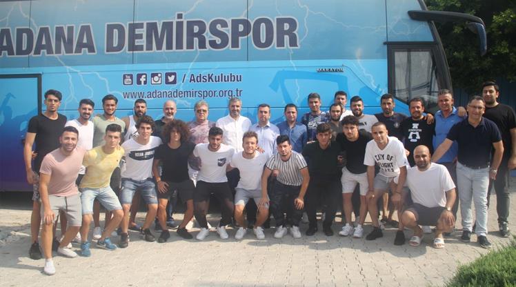 Adana Demirspor kampa giriyor