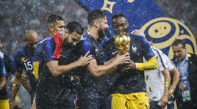 """""""Fransa İtalyan usulü şampiyon"""""""