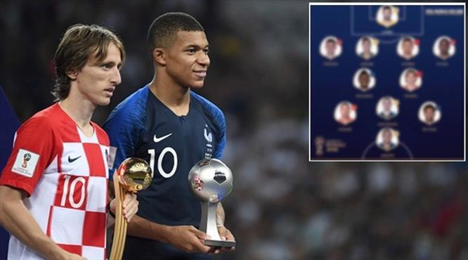 FIFA açıkladı! İşte Dünya Kupası'nın en iyi 11'i