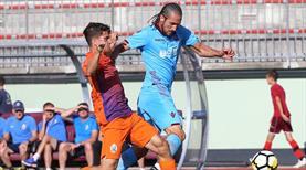 Trabzon Azeri golcüsüyle güldü