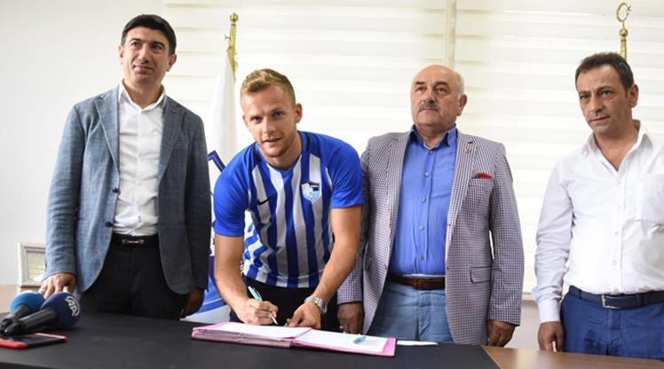 Erzurumspor'a Alman golcü
