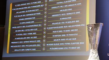 İşte UEFA Avrupa Ligi'ndeki tüm eşleşmeler