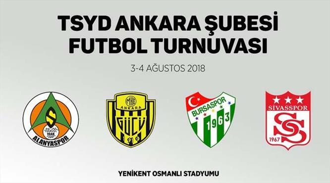 TSYD Ankara'dan dörtlü turnuva