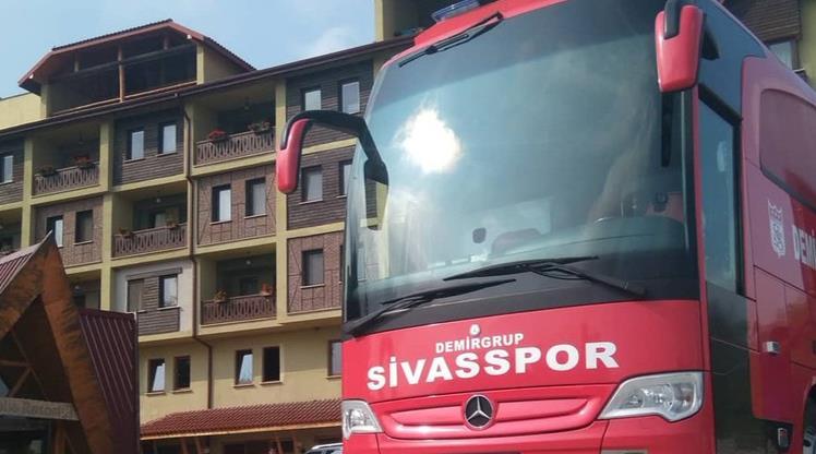 Sivasspor'da Bolu kampı sona erdi