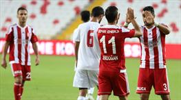 Sivasspor'dan gol şov