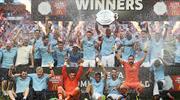 Agüero'dan muhteşem açılış! İlk kupa Manchester City'nin!