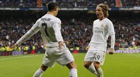 Ronaldo'dan sonra Modric de gemileri yaktı:
