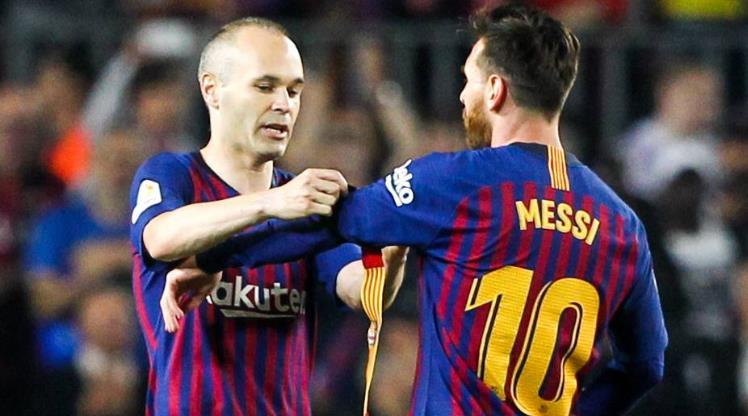 Barcelona'da yeni kaptan Messi