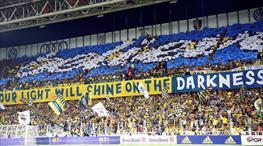 Fenerbahçe'den muhteşem koreografi (FOTO GALERİ)