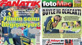 Manşetlerde Fenerbahçe'nin vedası var! İşte en çarpıcıları!