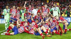 Avrupa'nın en büyüğü Atletico Madrid