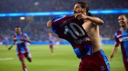 Trabzonspor siftahı Olcay'la yaptı