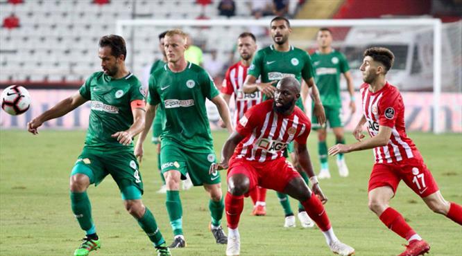 Antalyaspor - Atiker Konyaspor:3-3 (ÖZET)