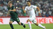 Atiker Konyaspor - Bursaspor: 1-1 (ÖZET)