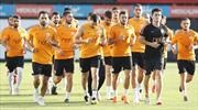 Galatasaray maça hazır