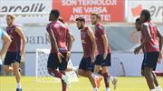 Trabzon taktik çalıştı