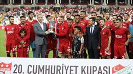 Cumhuriyet Kupası Demir Grup Sivasspor'un