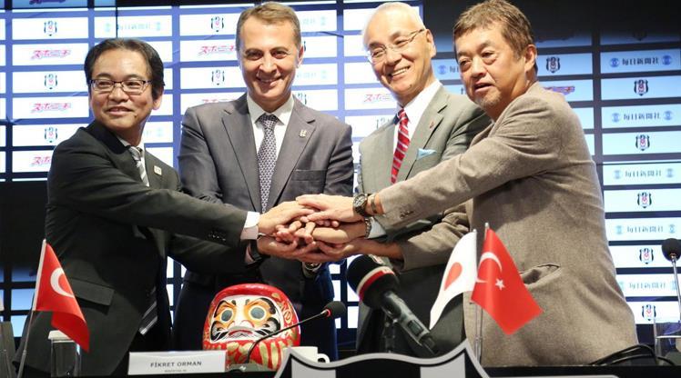 Beşiktaş'ı dünyaya Japonlar tanıtacak