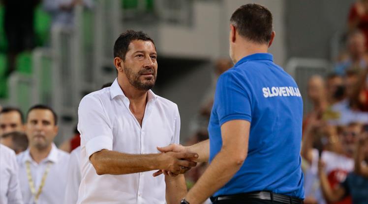 A Milli Erkek Basketbol Takımı Başantrenörü Ufuk Sarıca,