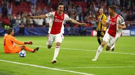 Ajax Devler Ligi'ne şovla başladı