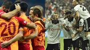 G.Saray ve Beşiktaş'tan F.Bahçe'ye fark