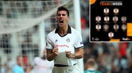 Beşiktaşlı yıldız Avrupa Ligi'nde haftanın 11'inde!