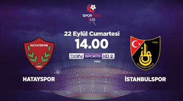 Hatayspor - İstanbulspor (CANLI)