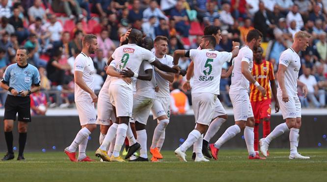 Kayserispor - Atiker Konyaspor: 0-2 (ÖZET)