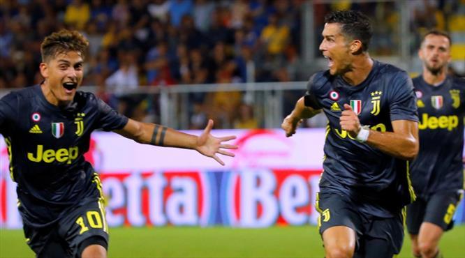 Ronaldo bu sefer hem güldü hem güldürdü (ÖZET)
